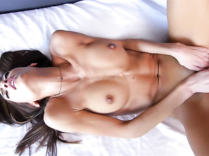 Fit Beauty Moans With A Big Cock Pounding Her Pussy