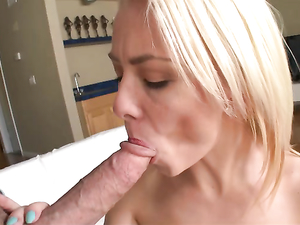 Young Mouth Worshiping Big Cock Before They Fuck