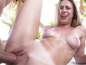 Stripping The Bikini Girl Naked And Fucking Her Hard