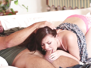 Cumshot On The Tasty Muffin Of A Cute Teen