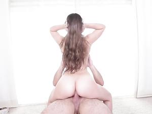 Big Slippery Ass On The Curvy Hardcore Teen