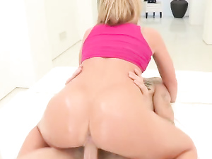 Big Slick Teen Booty Bent Over For Doggystyle Sex