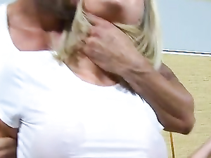 Big Titty Bitch Likes It Rough And He Gives It