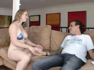 Gorgeous Curves On A European Cock Whore