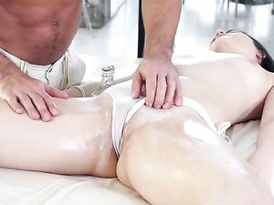Horny Bikini Girl Satisfied By Big Cock Sex