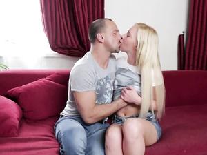 Ass Fucking A Russian Blonde Makes Him Cum