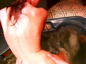 Hot Tub Teen Sex Is Easiest In Doggystyle