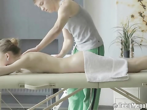 Massage Teen With An Incredibly Tight Body Loves Dick