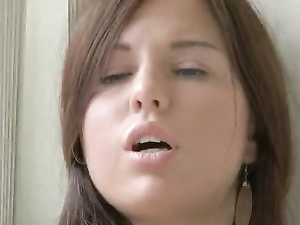 Teen Solo Girl Spreads Her Legs And Masturbates Lustily