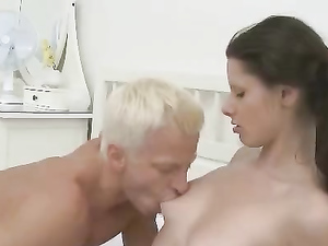 Tight Teenage Pussy Fucked Deeply By A Nice Big Cock