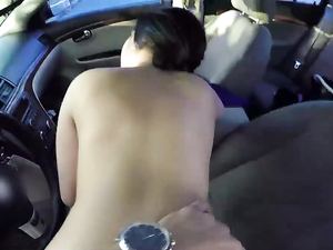 Soccer Slut Fucked In The Back Seat Of His Car
