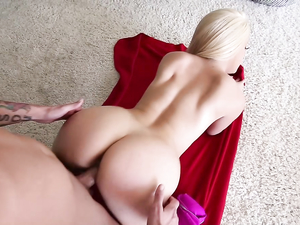 Beautiful Bubble Butt On A Dirty Blonde Slut